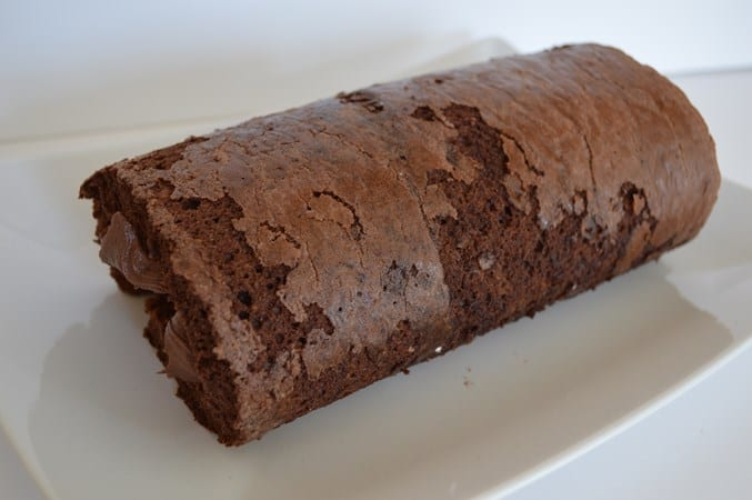 GF DF Chocolate Swiss Roll