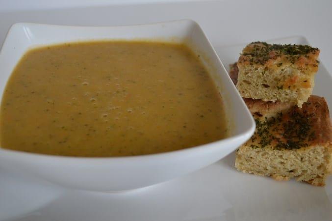 Tomato & Courgette Soup