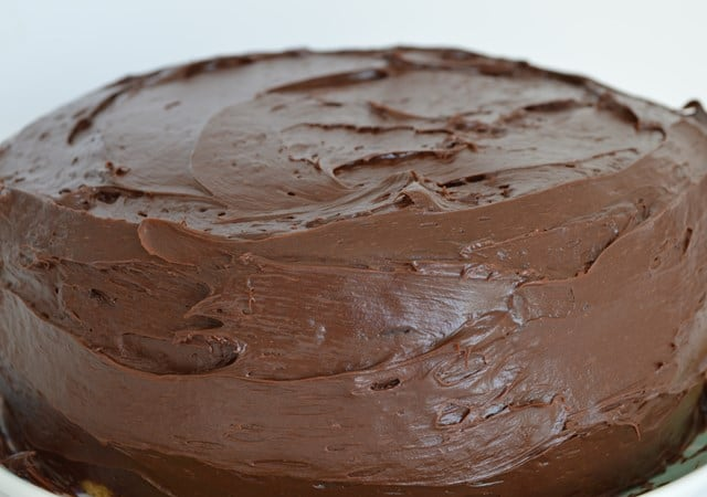 DF GF Chocolate Fudge Cake
