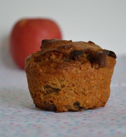GF DF Spiced Apple Muffins