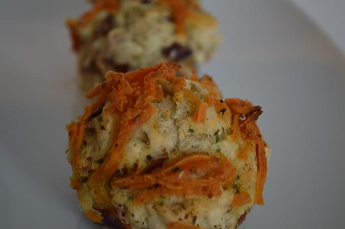Gluten Free Pizza Style Muffins