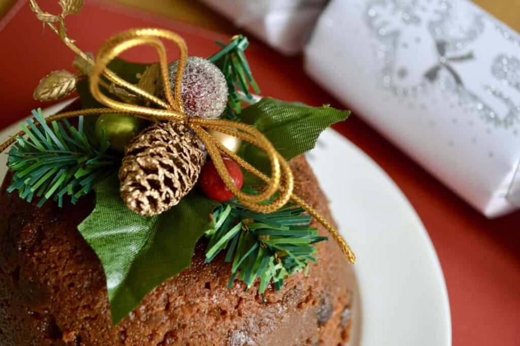 Gluten and Dairy Free Christmas Pudding