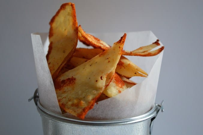 Homemade Gluten and Dairy Free Tortilla Chips