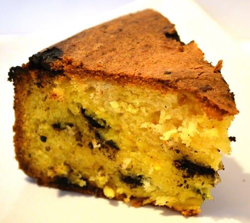 Gluten and Dairy Free Orange and Carob Cake
