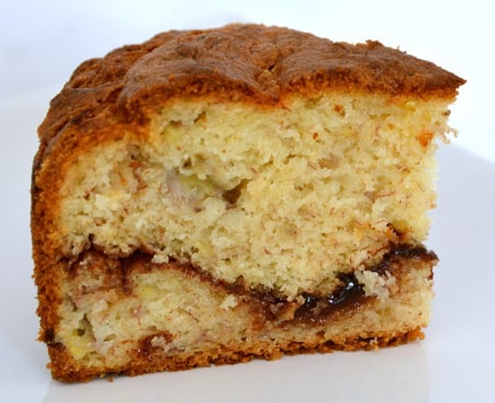 Gluten and Dairy Free Cinnamon Banana Cake