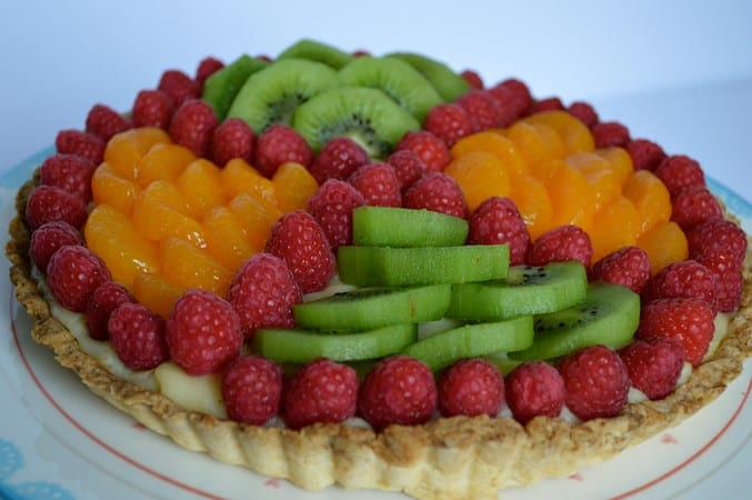 Gluten and Dairy Free Fruit Tart