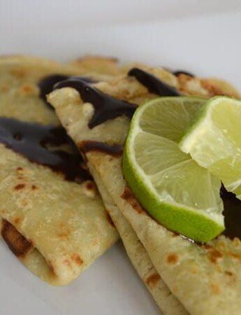 chocolate lime crepes