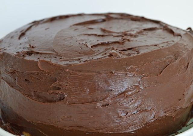 Gluten and Dairy Free Chocolate Fudge Cake