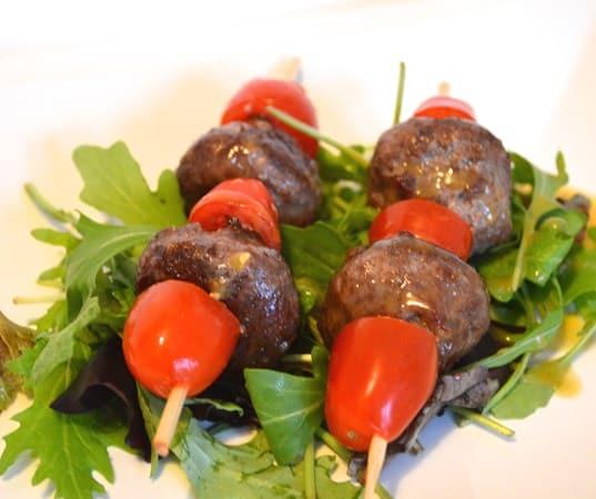 GF DF Meatball Kebabs