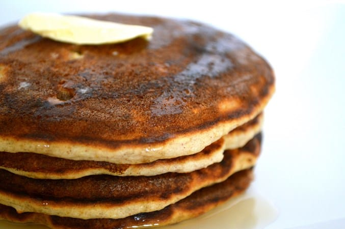Gluten and Dairy Free Banana Oat Pancakes