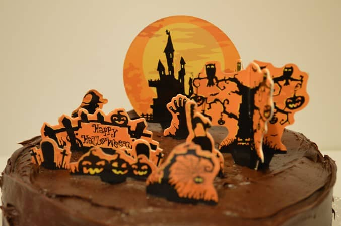 Gluten & Dairy Free Halloween Cake
