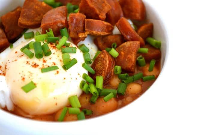 chorizo breakfast bowls