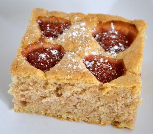 Gluten and Dairy Free Strawberry Sponge Cake