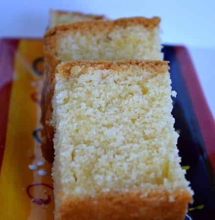 Gluten and Dairy Free Madeira Cake