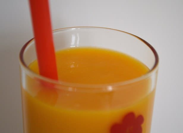 Gluten and Dairy Free Sunrise Smoothie