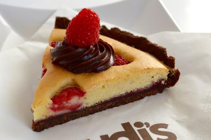Gluten and Dairy Free Chocolate & Raspberry Tart