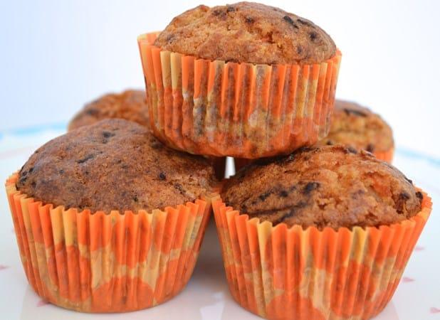 gluten free spiced carrot buns