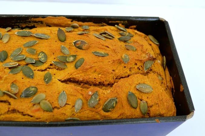 Gluten and Dairy Free Pumpkin Bread