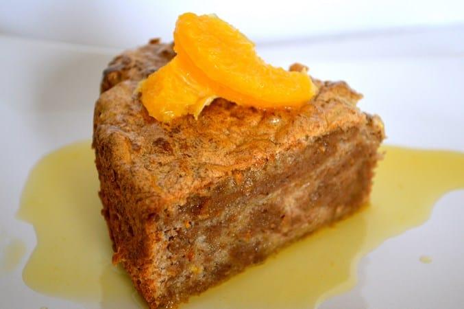 Gluten and Dairy Free Karithopita (Greek Walnut Cake with Orange Syrup)