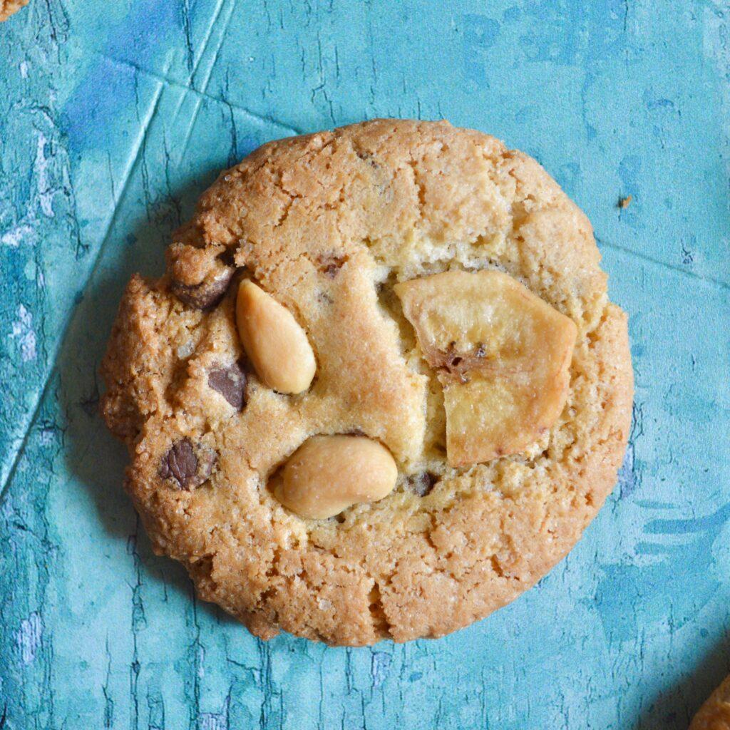 peanut banna cookies