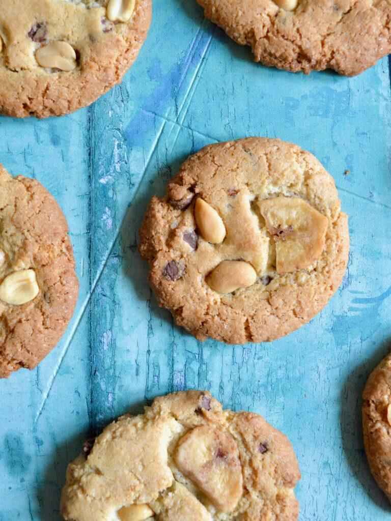 peanut banana cookies