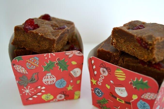 Gluten and Dairy Free Christmas Fudge