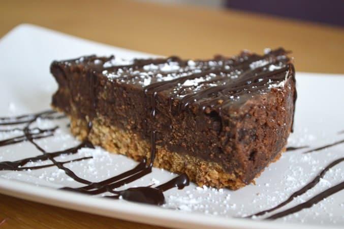 Gluten and Dairy Free Mint Chocolate Torte