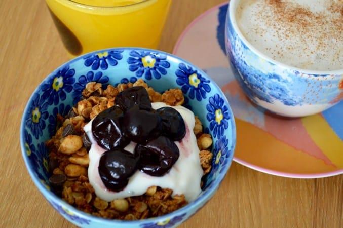 Gluten and Dairy Free Peanut Choc Chip Granola