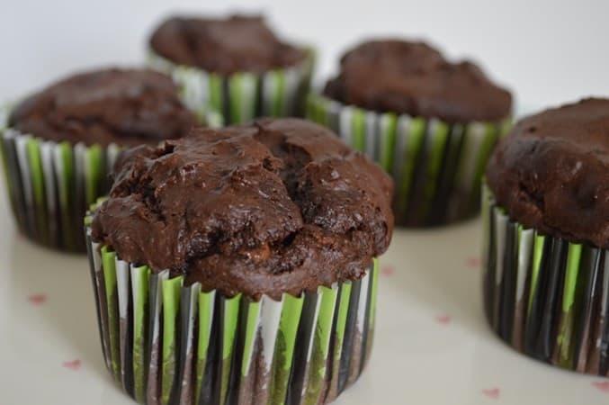 Gluten and Dairy Free Banana Chocolate Muffins