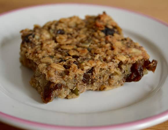 GLuten and Dairy Free Banana and Maple Syrup Bars