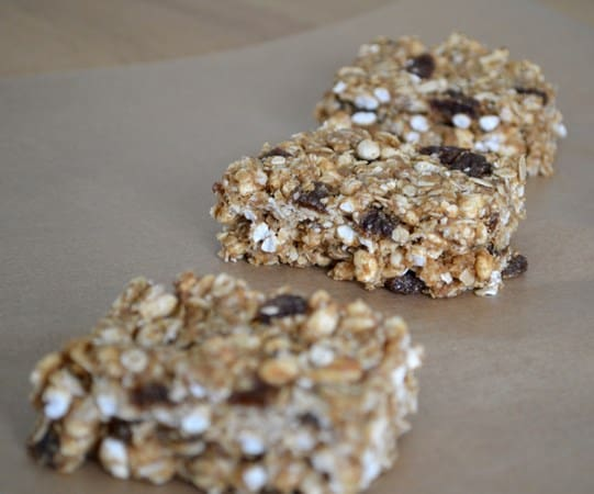 Gluten and Dairy Free Crisp Rice Cereal Bars