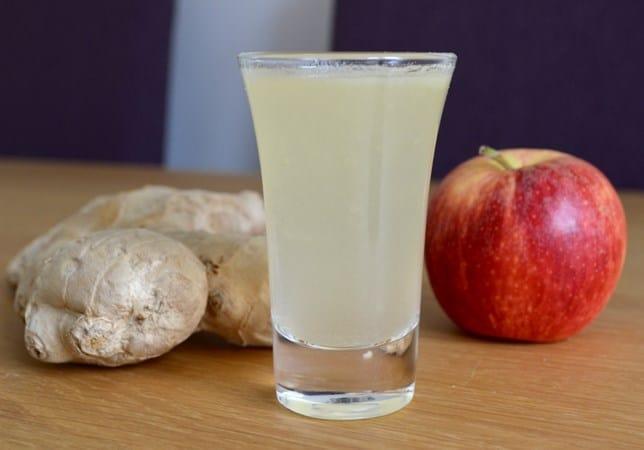 apple ginger shot
