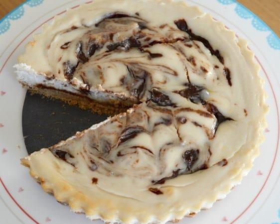 Gluten and Dairy Free Cinnamon Swirl Cheesecake