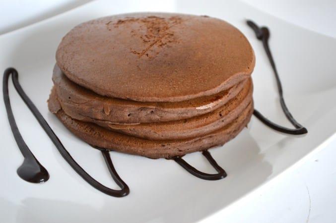 Gluten and Dairy Free Mocha Pancakes