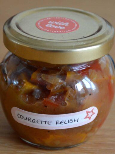 courgette relish