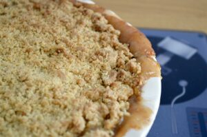 Gluten and Dairy Free Apple & Rhubarb Crumble