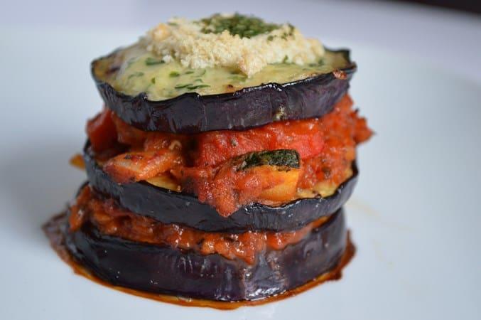 aubergine-mousakka