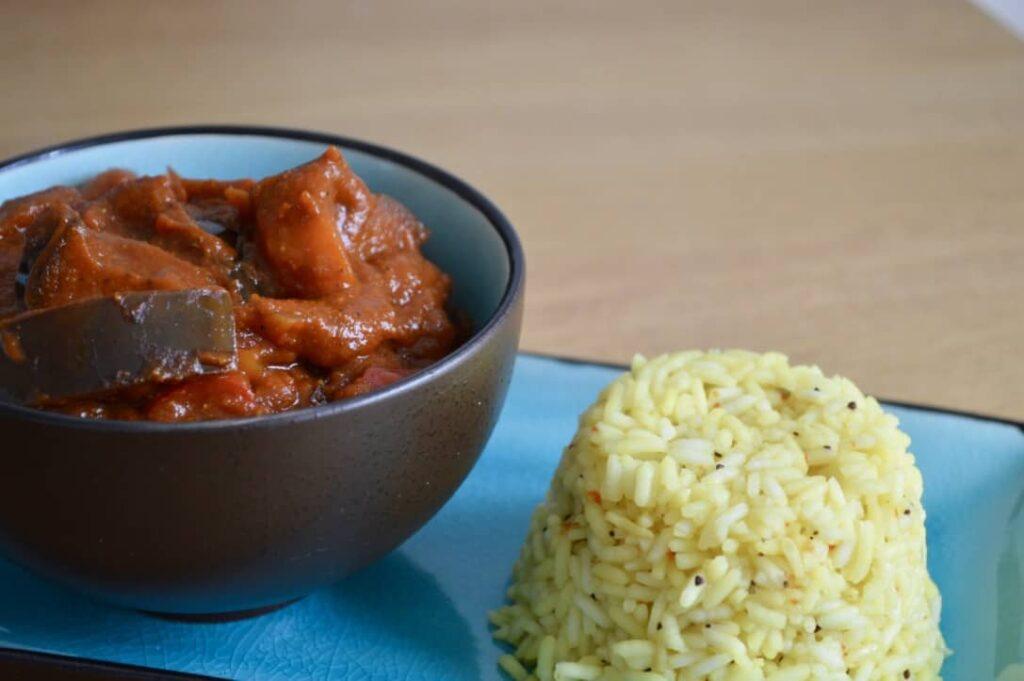 aubergine-curry