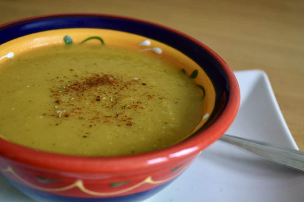 Gluten and Dairy Free Butternut Squash, Leek & Broccoli Soup