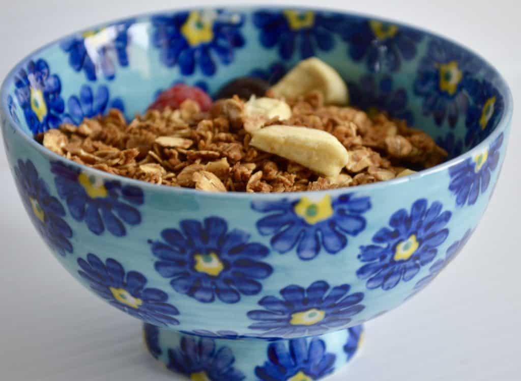 Gluten and Dairy Free Apple and Sultana Granola