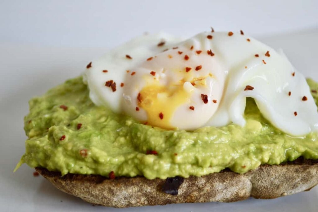 Gluten and Dairy Free Poached Eggs with Chilli Lime Avocado