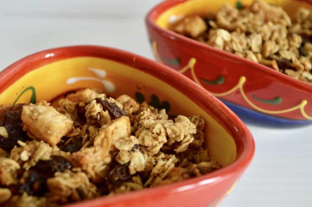 Gluten and Dairy Free Apricot & Sultana Breakfast Crunch