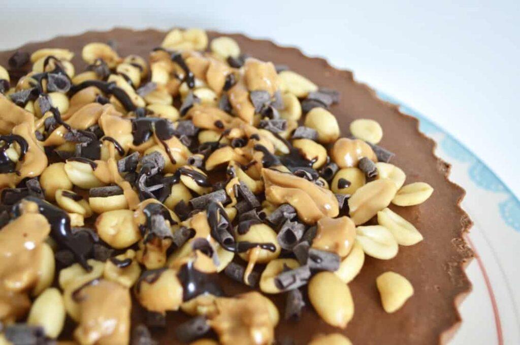 Gluten, Dairy & Egg Free Peanut Chocolate Pie
