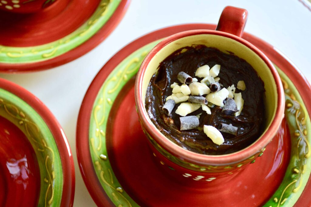 Gluten, Dairy & Egg Free Chocolate Cashew Pudding