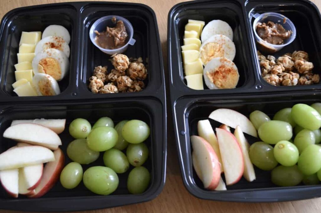 Gluten and Dairy Free Meal Prep Breakfast Box