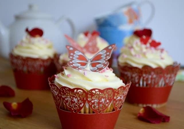 Gluten and Dairy Free Valentine Cupcakes