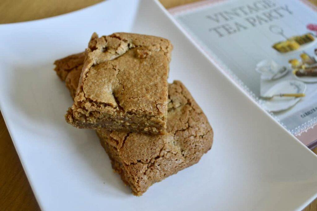 Gluten and Dairy Free Apple Pie Blondies