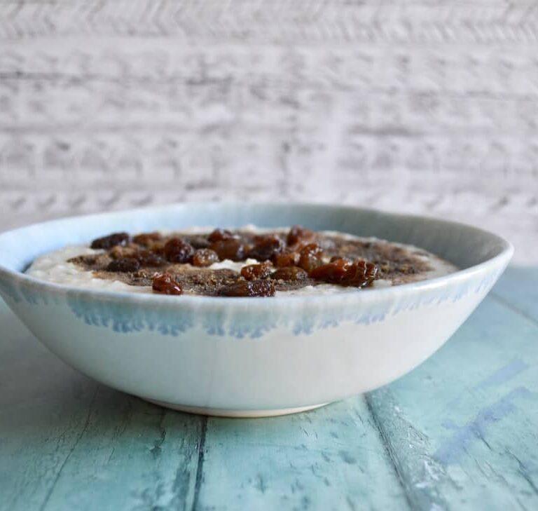 cinnamon roll porridge