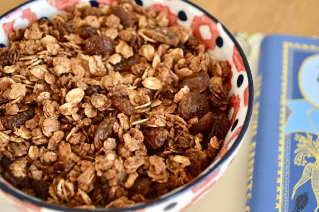 Gluten and Dairy Free Gingerbread Granola