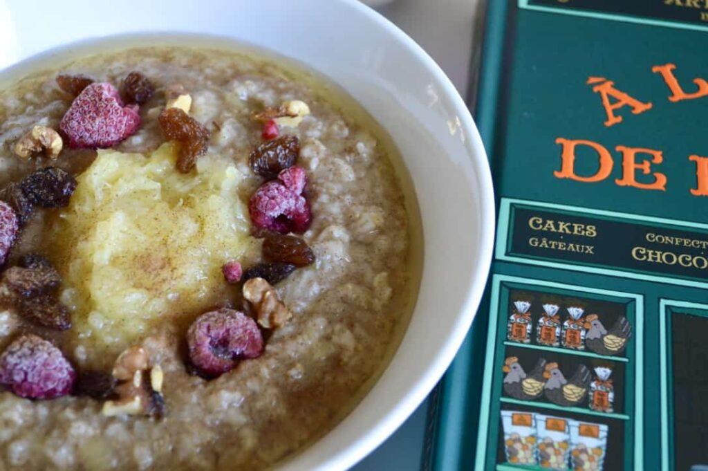 Gluten and Dairy Free Pineapple & Cinnamon Porridge